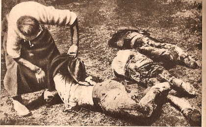 Corpses in Libau
