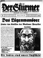 Der Stuermer caricature