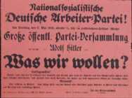 1920 Nazi Poster