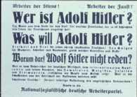 1927 Nazi Poster