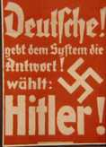 Hitler Election Poster
