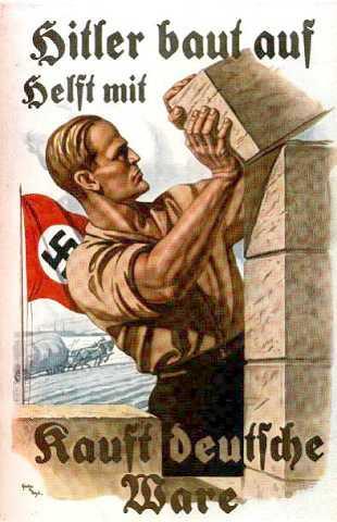 Немецкие плакаты времен второй мировой...