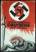 1930 Nazi Election Poster